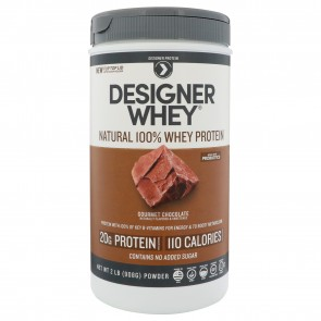 Designer Whey Protein Natural Gourmet Chocolate 2 lbs