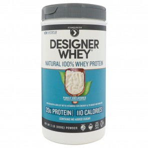 Designer Whey plain & simple Protein Powder 2 lbs