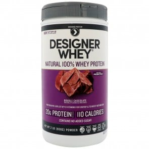 Designer Whey Double Chocolate Protein Powder 2 lbs
