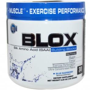 BPI Blox Silk Amino Acid Blue Raspberry 5.29 oz
