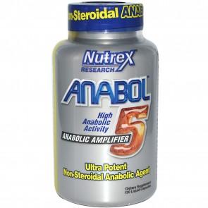 Nutrex Anabol 5 120 Liquid Capsules