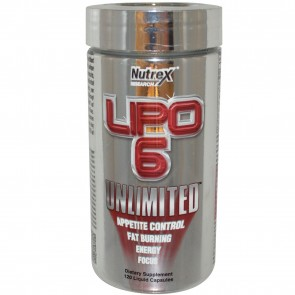 Nutrex LIPO-6 UNLIMITED 120 Liquid Capsules