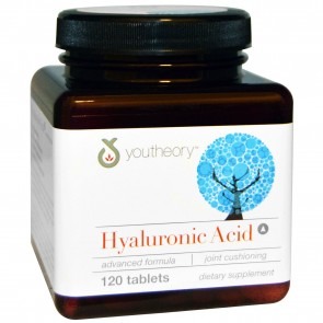 Youtheory - Hyaluronic Acid Advanced Formula - 120 Tablets