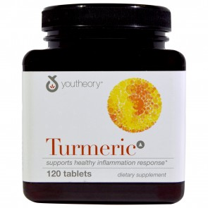 Youtheory Turmeric Advanced Formula 120 Tablets