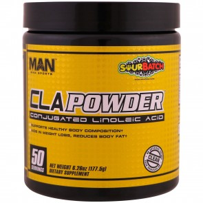 Man Sports CLA Powder 50 Servings Sour Batch (5.99 oz)