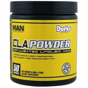 Man Sports CLA Powder 50 Servings Dorks (5.99 oz)