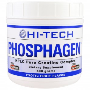 Hi Tech Phosphagen Exotic Fruit 500 grams 33 Servings