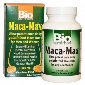 Bio Nutrition-Maca-Max 1000mg 30tb