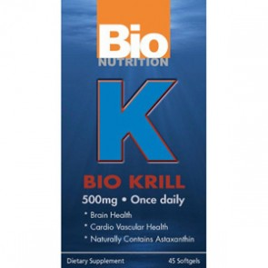 Bio Nutrition-Krill Oil 500mg 45 Softgels