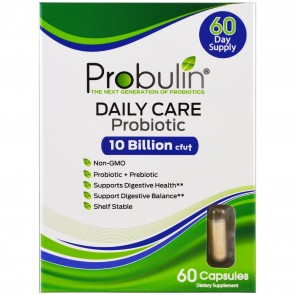 Probulin Daily Care Probiotic 10 Billion cfu 60 Capsules