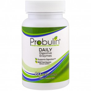 Probulin Daily Digestive Enzymes 60 Capsules