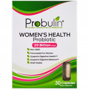 Probulin Women's Health Probiotic 20 Billion CFU 30 Capsules