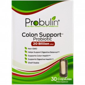 Probulin Colon Support Probiotic 20 Billion CFU 30 Capsules