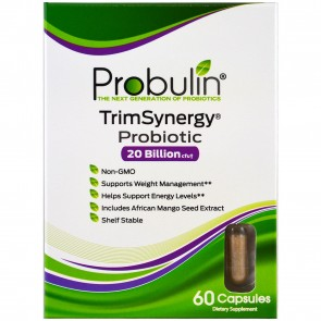 Probulin TrimSynergy Probiotic 20 Billion 60 Capsules