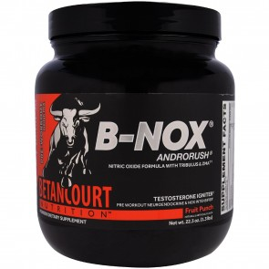 Betancourt Nutrition B-Nox Androrush Pre Workout Fruit Punch 35 Servings