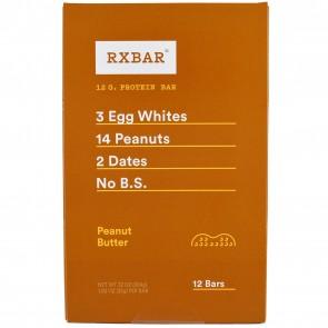 RXBAR Peanut Butter Box of 12 Bars