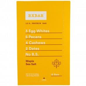 RXBAR Maple Sea Salt Box of 12 Bars