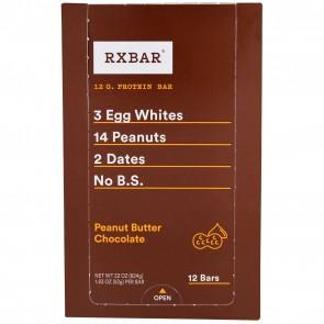 RXBAR Peanut Butter Chocolate Box of 12 Bars