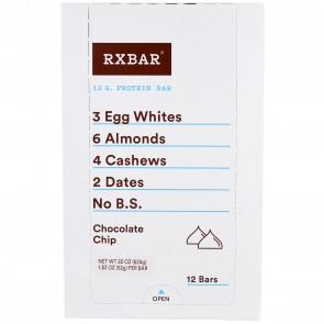 RXBAR Chocolate Chip Box of 12 Bars
