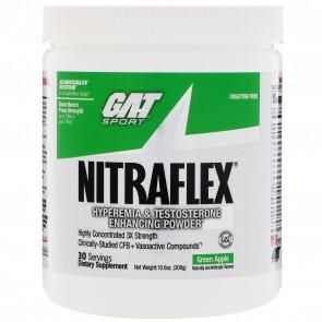 GAT Nitraflex Green Apple 10.6 oz (300 Grams)