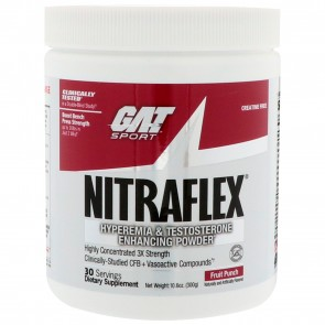 GAT Nitraflex Fruit Punch 10.6 oz (300 gm)