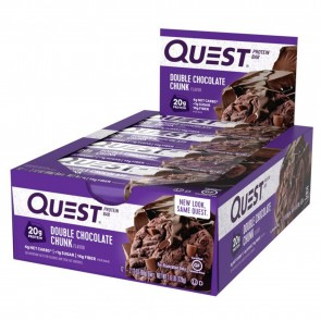 Quest Nutrition Quest Bar Protein Bar Double Chocolate Chunk (12 Bars)