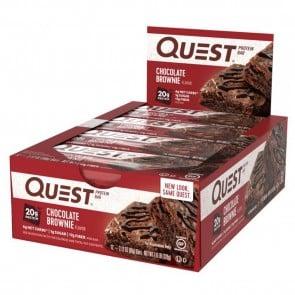 Quest Nutrition Quest Bar Protein Bar Chocolate Brownie (12 Bars)