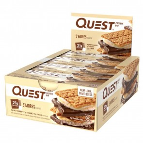 Quest Nutrition Quest Bar Protein Bar S'mores (12 Bars)