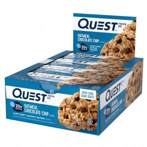 Quest Nutrition Quest Bar Protein Bar Oatmeal Chocolate Chip (12 Bars)