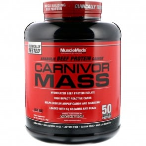 MuscleMeds Carnivor Mass Chocolate Fudge 5.7 lbs