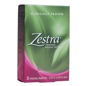 Zestra Feminine Arousal Fluid | Zestra 3 Individual .8ml Applications
