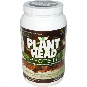 Genceutic Naturals Plant Head Protein Chocolate 1.8 lb (810 g)