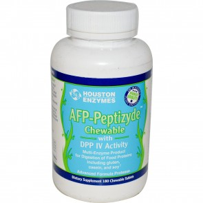 Houston Enzymes AFP Peptizyde 120 Chewables Tablets