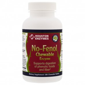 Houston Enzymes No-Fenol 180 Chewable Tablets