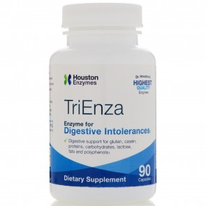 Houston Enzymes - TriEnza with DPP IV Activity, 90 Capsules