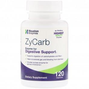 Houston Enzymes ZyCarb 120 Capsules