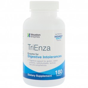 Houston Enzymes - TriEnza with DPP IV Activity, 180 Capsules