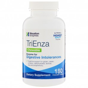 Houston Enzymes- TriEnza Chewable with DPP IV Activity 180 Chewable Tablets