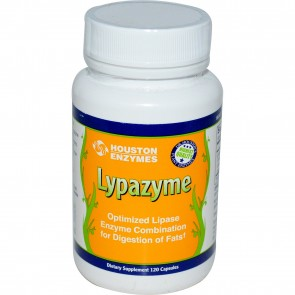 Houston Enzymes Lypazyme 120 Capsules