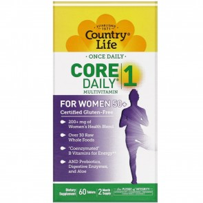 Country Life Core Daily 1 For Women 50 + 60 Tablets