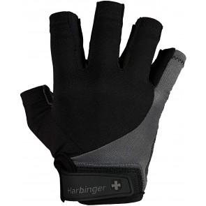 Harbinger BioFlex Real Leather Black/Gray (Large)
