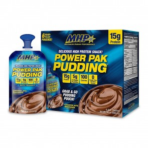 MHP Power Pak Pudding Chocolate 6 Pack