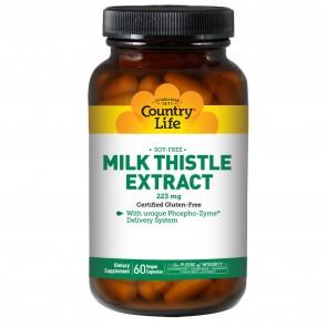 Country Life Milk Thistle Extract 60 Vegicaps