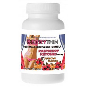 American Generic Labs  BerryThin 60 Capsules