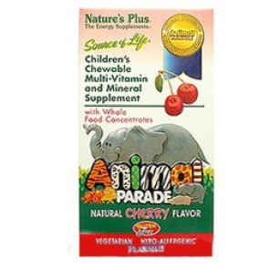 Natures Plus Animal Parade Cherry 90 Tablets
