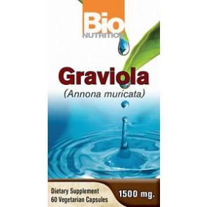 Bio Nutrition Graviola (Annona Muricata) 1500mg 60 Capsules