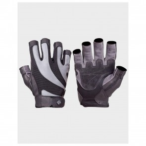 BioFlex Real Leather Glove Black/Gray (Extra Large) by Harbinger