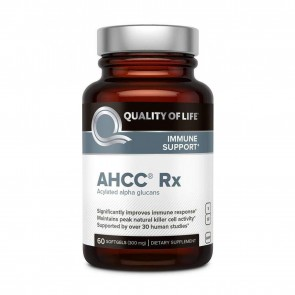 Quality of Life AHCC Rx 300mg 60 Softgels