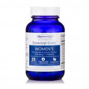AllergyResearchGroup Essential-Biotic Women's 25 Billion 60 Delayed-Release Vegetarian Capsules