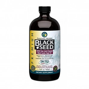 Amazing Herbs Black Seed Oil 16 fl oz